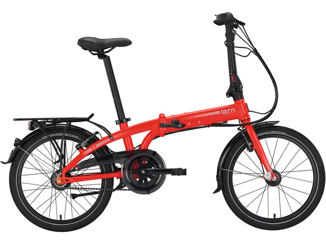 tern Link C7i Hopfällbar cykel 20 röd - till fenomenalt pris på Bikester 58b5add2d6927